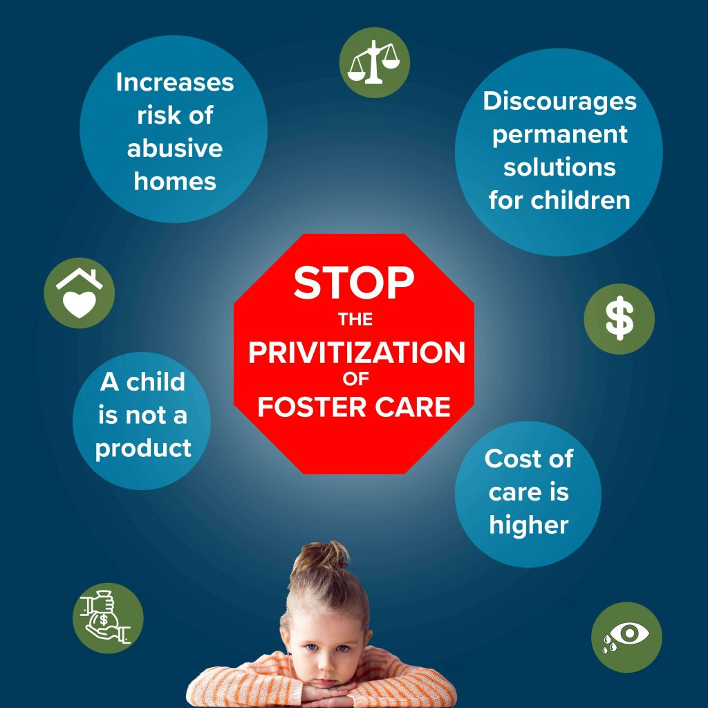 Stop the Privatization of Foster Care